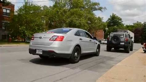 2014 Ford Taurus Unmarked Police Car