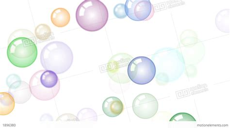 Animated Bubbles Wallpaper - motion background with moving soap bubbles stock animation