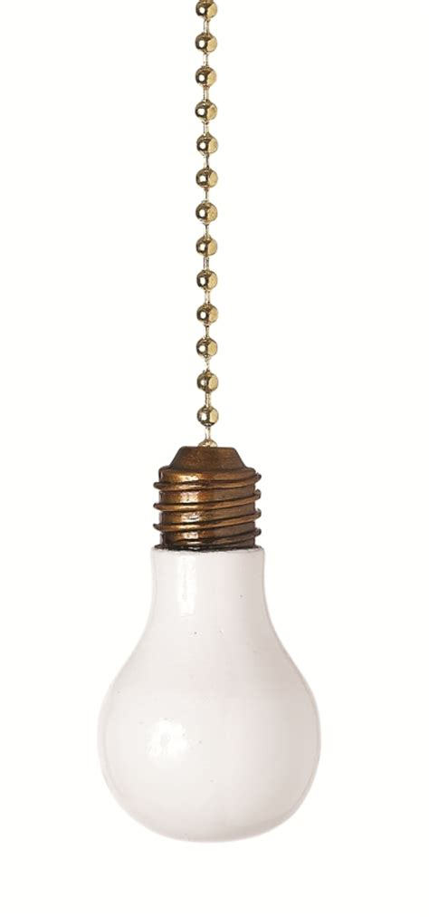 light bulb decorative ceiling fan light dimensional pull