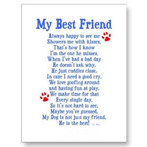 Dogs Best Friends Poems and Quotes