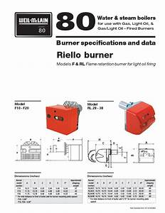 Riello 40 Gas Burner Manual
