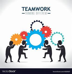 Teamwork design vector art - Download Social vectors - 4020527