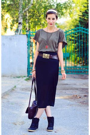 Mango Shirts Pencil Topshop Skirts High Top Wedge River Island Sneakers | u0026quot;Brandedu0026quot; by ...