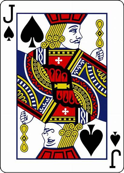 Jack Playing Cards Clipart Spades Individual Card