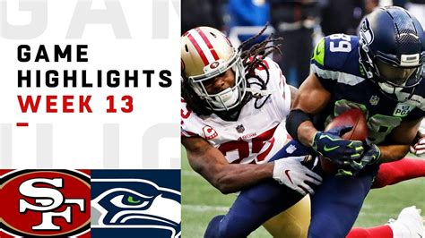 ers  seahawks week  highlights nfl  nfl