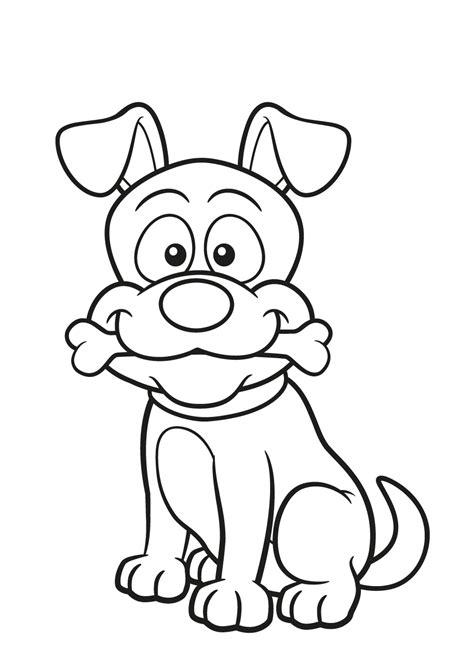 Kleurplaat Boomer Hondje kleurplaat hond 64 gratis allerleukste honden kleurplaten