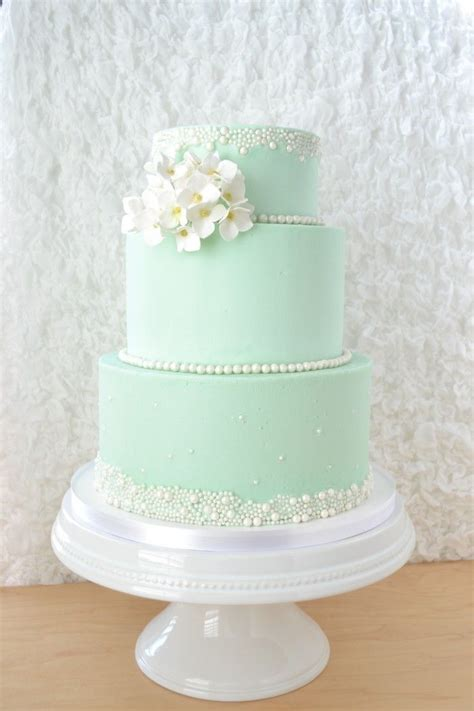 17 Best Ideas About Mint Wedding Cake On Pinterest Mint