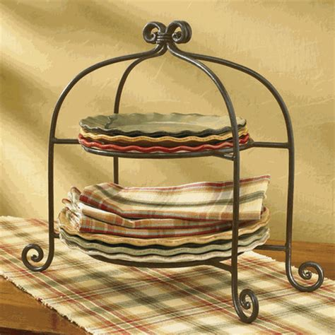 park designs cottage style plate stand