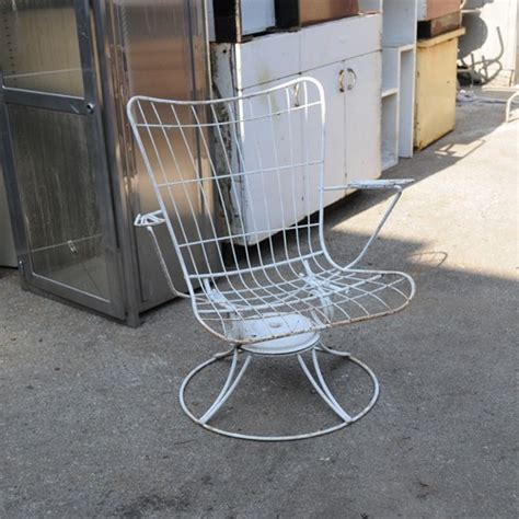twenty industrial metal patio chair one of a kinds
