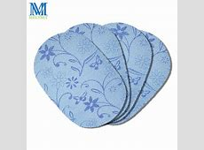 4pcsSet Vinyl Placemats Oval Kitchen Placemats for Dining
