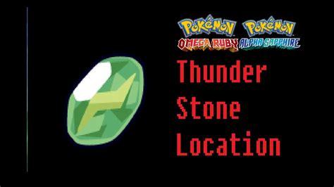 find  thunderstone pokemon omega ruby alpha