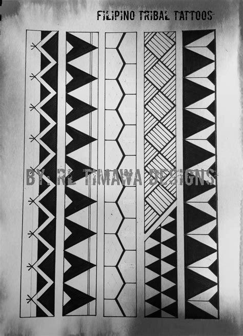Contemporary Filipino Tribal Tattoo design   Marquesan