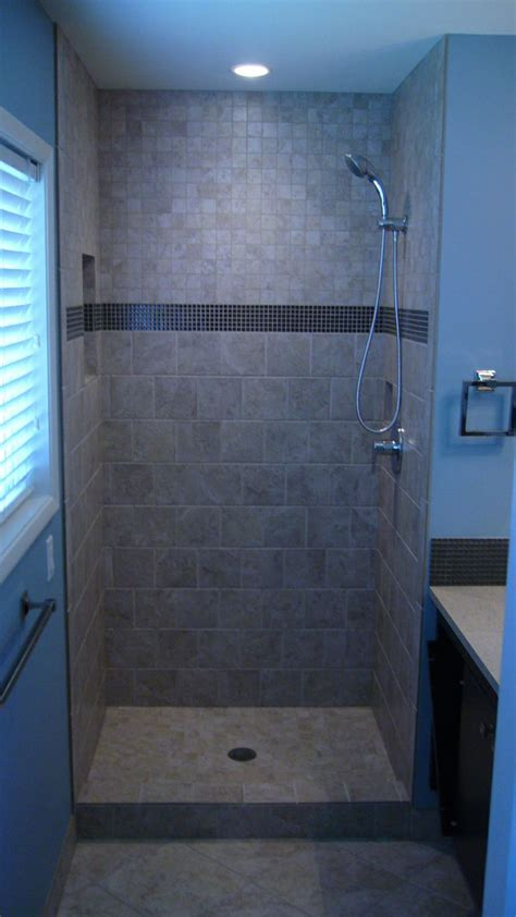 tiled shower stall bathroom updates small shower