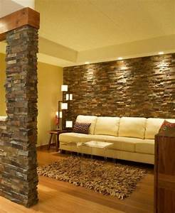 15 artistic stacked stone wall to catch your attention With stacked stone interior wall ideas