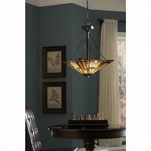 Inglenook uplighter ceiling pendant hand crafted tiffany