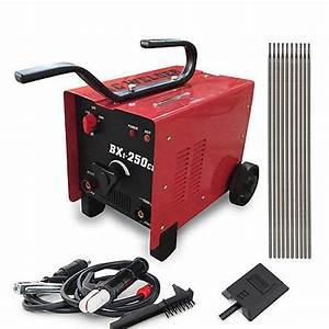 250 Amp Arc Welder 110v 220v Voltage Dual Ac Soldering