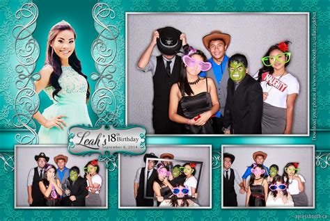 double celebration   photo booth layouts