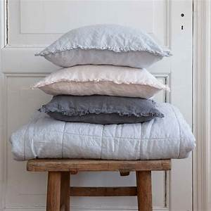 house in style plaid couvre lit lin lave 39nice39 blanc With tapis exterieur avec plaid lin canapé