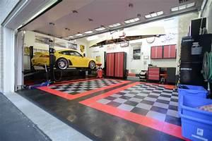 Garage floor race deck installed page 3 rennlist for How much is racedeck flooring
