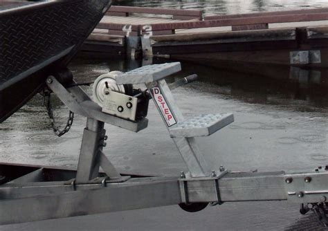 Boat Trailer Step Handle by 2016 Targa 18 And 20 Trailer Integrated Boarding Steps