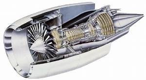 Cutaway View Of Ge90 Engine