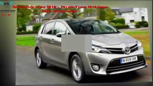 Toyota Verso Dimensions : new toyota verso 2018 specs interior exterior concept redesign youtube ~ Medecine-chirurgie-esthetiques.com Avis de Voitures