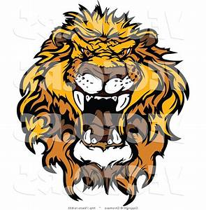 HD Clipart Lion Roaring Design