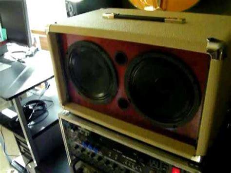 earcandy bailey 2x8 guitar speaker cabinet youtube