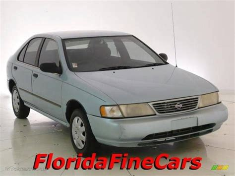 light blue nissan sentra 1997 silver mint metallic nissan sentra 18999041 photo