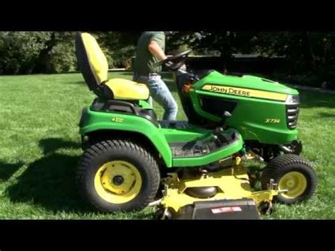 mower deck removal john deere l130 how to save money