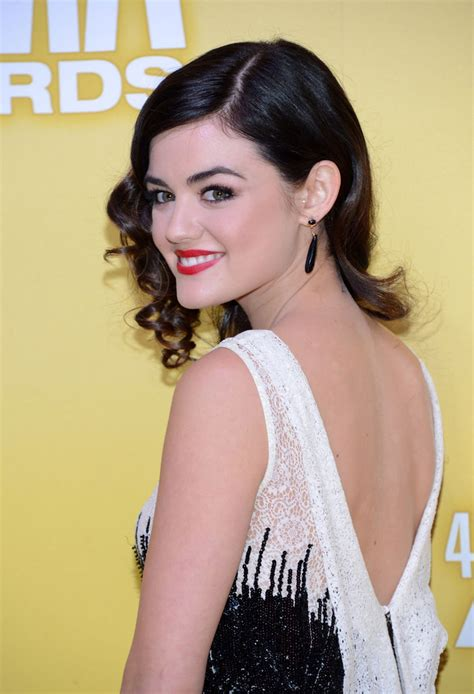 LUCY HALE at 46th Annual CMA Awards in Nashville – HawtCelebs