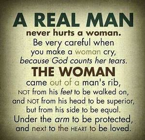 A real man neve... Guy Hurt Quotes