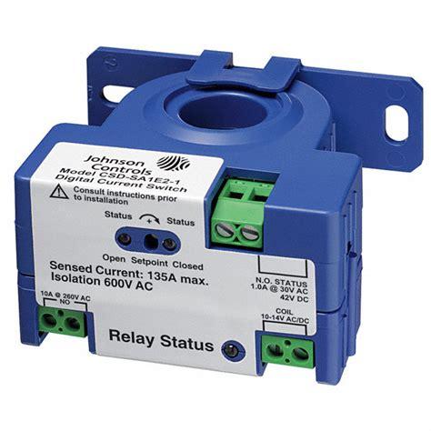 Johnson Controls Adjustable Current Sensing Relay Vac