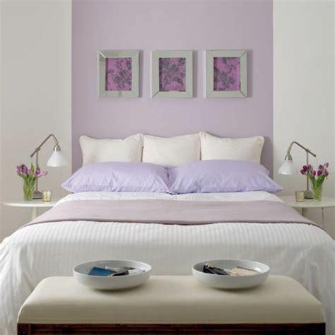 lila schlafzimmer 50 pastell wandfarben schicke moderne farbgestaltung