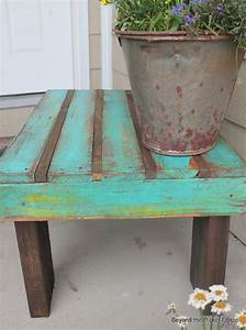 coffee table made from a pallet pieces of wood just With piece of wood coffee table