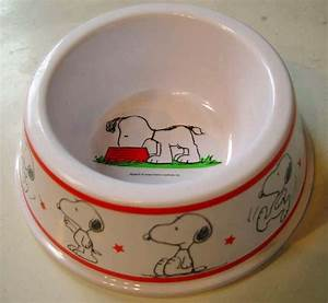 snoopy dog dish bowl for the home pinterest With snoopy dog food bowl