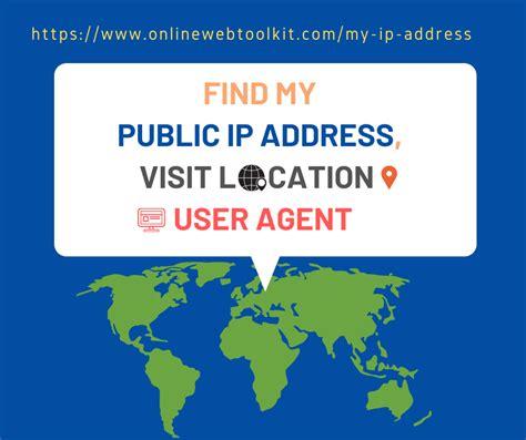 ip address location user agent browser visit information internet