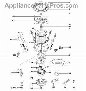 29 Ge Hydrowave Washer Parts Diagram