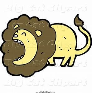 Royalty Free Lion Roaring Stock Big Cat Designs