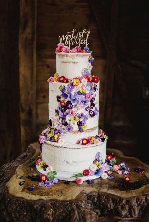 The 25 Best Edible Flowers Cake Ideas On Pinterest