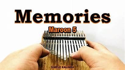 Memories Maroon Kalimba Easy