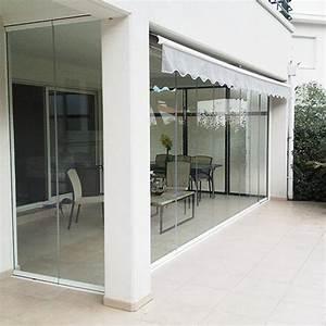 Rideau balcon rideau de verre fermeture de balcon for Rideaux de terrasse exterieur 8 fermeture balcon ou loggia par rideaux de verre