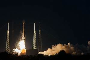 Falcon 9 and SES-8 liftoff from SpaceX's launch pad at ...