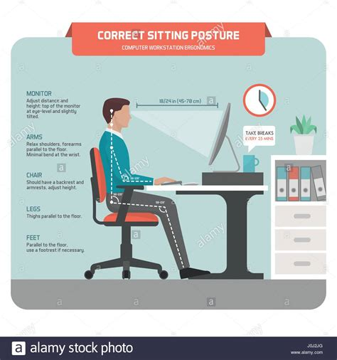 ergonomic sitting at desk amazing of ergonomic desk setup with images about