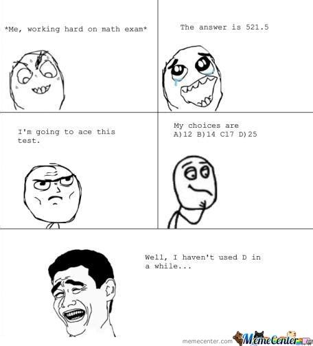 Memes Test - math test memes images
