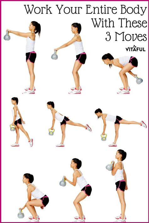 kettlebell workout workouts core exercises body moves training muscles total fitness routine exercice ball these superset kettle bell exercise easy