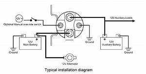 Battery Separator Wiring Diagram