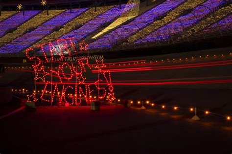 Bristol Motor Speedway Lights by The Speedway In Lights Set For 22nd Year Of