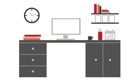 Office Desk Layout Template by Office Layout Prezi Template With Vector Images Free To