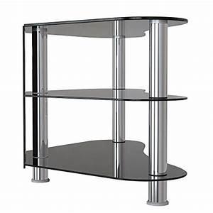 Fernsehtisch Schwarz Glas : 1home gt7 lcd plasma tv rack glas tisch stnder lcd rack led tisch fernsehtisch schwarz glas drei ~ Indierocktalk.com Haus und Dekorationen